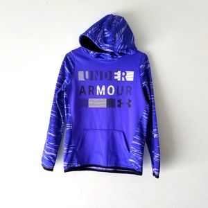 Under Armour Boys  pull over hoodie